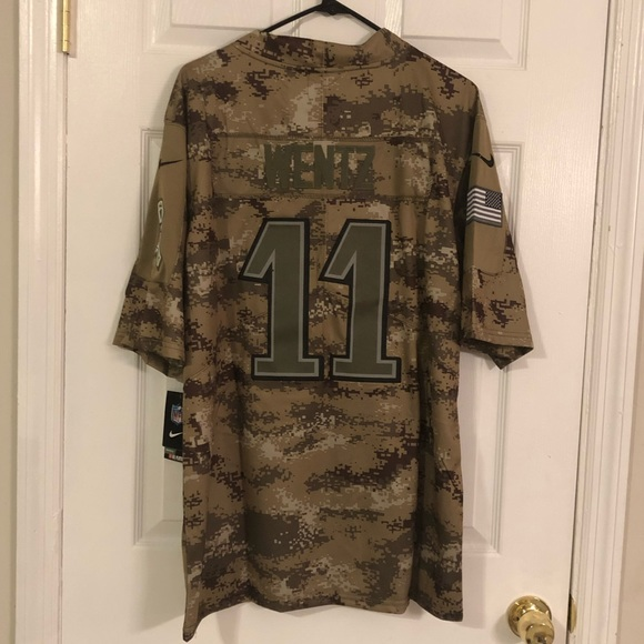 quality design 77fc3 c4147 Carson Wentz Salute to Service Jersey Men's M or L NWT